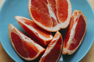 Grapefruits mit nussiger Zimtcreme