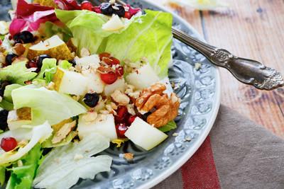 Radicchio-Birnen-Salat