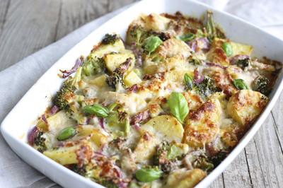 Kartoffel-Brokkoli-Gratin (vgn)