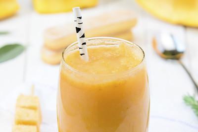 Banane-Orange-Shake (vgn)