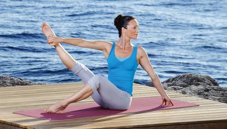 In Balance mit Pilates