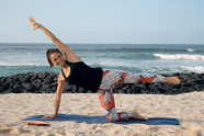 Beach-Workout - Core-Training