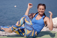 Gardasee-Beach-Workout - Bauch, Beine, Po