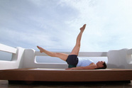 Pilates mit Ball - starker Rücken