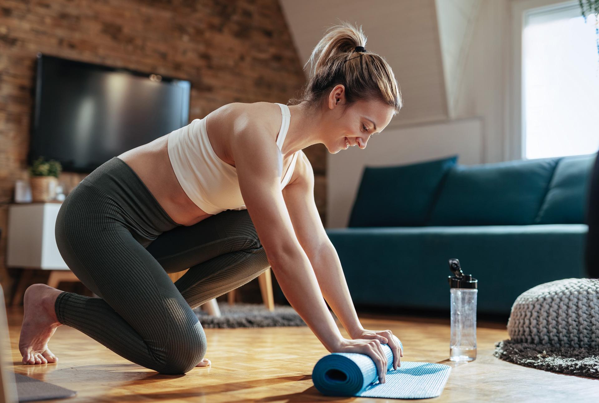 Praktische Übungen zum Abnehmen zu Hause